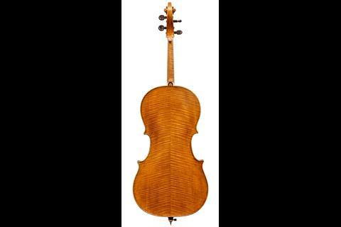 Serafin cello back